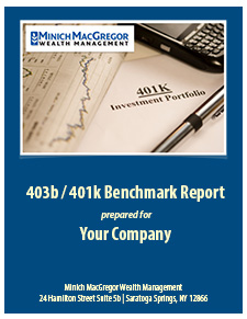 401k plan benchmark